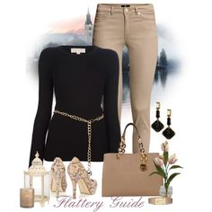 A fashion look from September 2013 featuring MICHAEL Michael Kors sweaters, H&M pants and Wallis pumps. Browse and shop related looks.