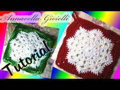 Tutorial presina di Natale all'uncinetto | How to crochet a Christmas Po...