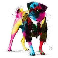 #Pug #Illustration