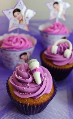 Violetta Disney Cupcakes by Violeta Glace!