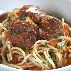 Cocina a lo Boricua: Espaguetis con albondiguitas a la criolla