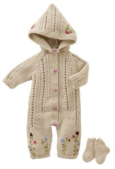 Bergere de France Sleepsuit Socks Pattern