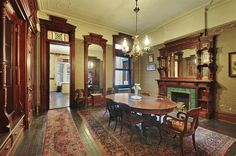 https://flic.kr/p/r31Ctb | President Street Brooklyn brownstone room Victorian interior | Photo taken from the real estate MLS