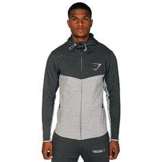 GymShark Fit Hooded Top - Grey/Graphite All men's wear | GymShark | Innovation In Fitness Wear