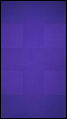 Ad Reinhardt - Abstract Painting: Blue (1953)