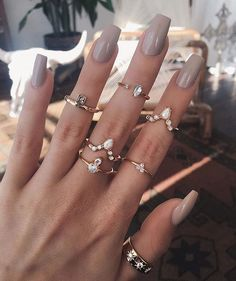 40 Instagram-Worthy Ways to Stack Your Rings #RueNow