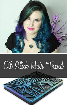 Oil Slick Hair Trend - #oilslick #hairtutorial #hairtrend #hair