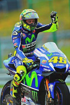 """f1championship: """" Valentino Rossi (Photo l Michelin) """""""