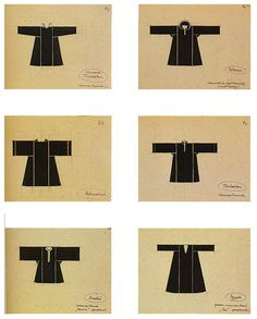 Fashion concept basics based on asian clothes from architect Von der Laan der_laan_2 by janvaneyck, via Flickr