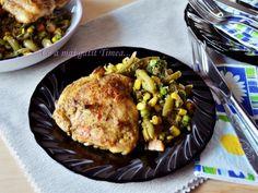 Cele mai gustoase feluri in care poti gati pulpele de pui - 15 retete delicioase Wok, Romanian Food, Kung Pao Chicken, Grains, Meat, Cooking, Ethnic Recipes, Recipes, Kitchen