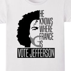 Vote Jefferson Shirt - $17 ⋆ Gifts for Hamilton Fans!