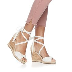 3846d27467 Shoes Sandals, Wedge Sandals, Kohls, Wedges, Footwear, Products, Shopping,