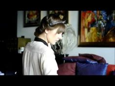 Headband hairstyle - tutorial. - YouTube