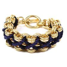 Nautical Cord Navy Bracelet