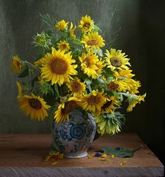 how to html color codes for text Sunflower Arrangements, Beautiful Flower Arrangements, Beautiful Flowers, Sunflowers And Daisies, Islamic Paintings, Sunflower Art, Rustic Art, Flowers Nature, Mellow Yellow