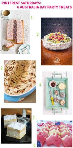 Pinterest Saturdays: 6 Australia Day Party Treats on Style for a Happy Home // Click for details