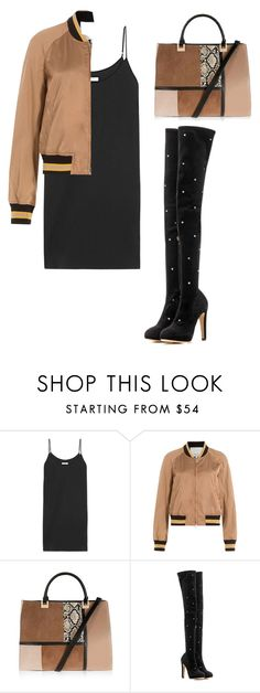 """Senza titolo #83"" by ds19295 ❤ liked on Polyvore featuring Equipment, 3.1 Phillip Lim, Topshop and Charlotte Olympia"
