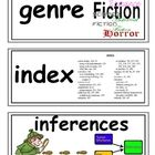 Language Arts Word Wall Cards for Marzano Academic Vocabulary