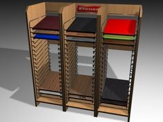 3D Model Display Stands c4d, obj, 3ds, fbx