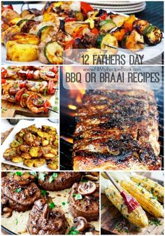 Braai Recipes, Meat Recipes, Chicken Recipes, Fathers Day Dinner Ideas, Mothers Day Brunch, South African Dishes, South African Recipes, Bbq Menu, Dinner Menu