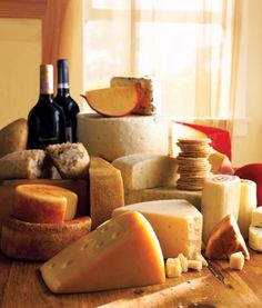 How to create a cheese board (or course)