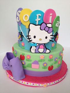 Hello Kitty — Children's Birthday Cakes
