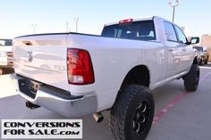 2013 Ram 2500 HD SLT CrewCab Cummins Diesel Lifted Truck