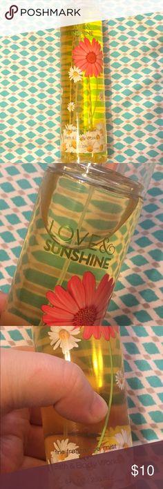 Love & Sunshine Fine Fragrance Spray 8 Oz New Brand new never used. Smoke free home. I'm happy to bundle orders! bath & body works Other