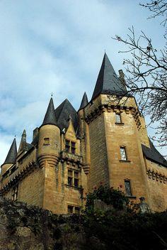 Château de Clérans, Saint-Léon-sur-Vézère, Dordogne, Aquitaine, France