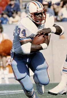Earl Campbell - Rated #55 NFL Player of all-time by NFL.com  5× Pro Bowl selection (1978, 1979, 1980, 1981, 1983)  3× All-Pro selection (1978, 1979, 1980)  1978 NFL Offensive Rookie of the Year  1979 AP NFL MVP  3× NFL Rushing champion (1978, 1979, 1980)  2× PFWA NFL MVP (1978, 1979)  3× NEA NFL MVP (1978, 1979, 1980)  3× NFL Offensive Player of the Year (1978, 1979, 1980)  1978 UPI AFL-AFC Player of the Year