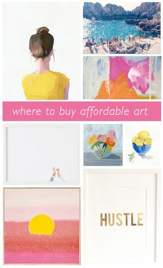 WHERE TO BUY AFFORDABLE ART