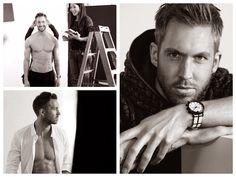 God Save the Queen and all: Calvin Harris para Emporio Armani #calvinharris #emporioarmani #ss15