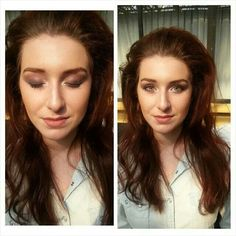 Hair by Leanne, face by Natalie E, eyes by Micaela- for fashion show