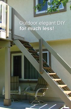Outdoor elegant DIY, for much less!