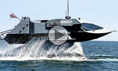 """""""The Ghost"""" The Ghost is a super-stealth warship that is invisible for the hostile radars. The craft was built by Juliet Marine Systems. Gregory Sancoff,"""
