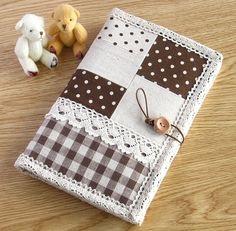 ハンドメイド 通帳 母子手帳ケース 6 インテリア 雑貨 Handmade notebook case ¥1200yen 〆05月12日