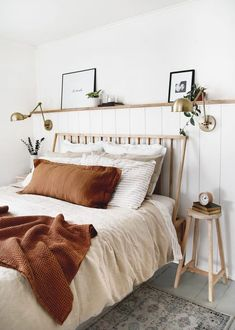 Room Ideas Bedroom, Home Decor Bedroom, Bedroom Modern, Bed Room, Bedroom Simple, Bedroom Designs, Minimal Bedroom, Earthy Bedroom, Neutral Bedding