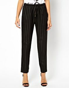 ASOS Pants in Soft Touch Pinstripe $71.19