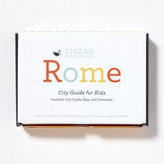 Meet Zig and Zag, two characters that will guide your child through Rome. Young travelers won't miss a beat with a map of Vatican City, thirty. Rome City, Vatican City, Italian Phrases, Learning Italian, Girls Accessories, Travel With Kids, Zig Zag, Fun Facts, Seen