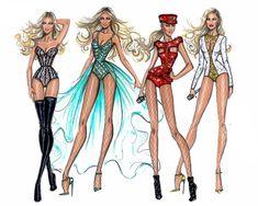 bocetos de moda - Google Search