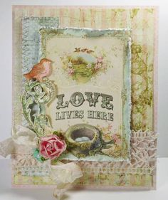 Love Lives Here by Linda D - Cards and Paper Crafts at Splitcoaststampers