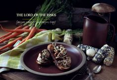 The Lord of the Rings: Farmer Maggot's Cabbage and Sausage Soup - Feast of Starlight Stuffed Mushrooms, Stuffed Peppers, Mushroom Toast, Cabbage And Sausage, Creamed Potatoes, Stone Soup, Sausage Soup, Bacon Wrapped