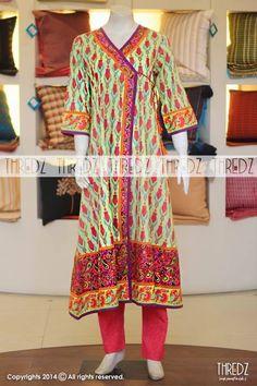 Eid-Ul-Azha & Autumn Wear Shalwar Kameez For Girls By Thredz From 2014
