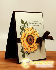 Ilina Crouse Happy Blooming Birthday Card