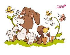 Wandtattoo NICI Spring Baby Animal Drawings, Oki Doki, Sweet Drawings, Best Friend Drawings, Llama Gifts, Cute Animal Illustration, Bullet Journal Art, Easter Art, Christmas Drawing