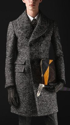 ShopStyle: Sartorial Herringbone Top Coat