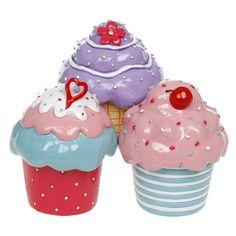 Cupcake trinket pots