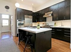 best kitchen colors with dark cabinets | Kitchen Colors with Dark Wood Cabinets | Kitchen Appliance Reviews