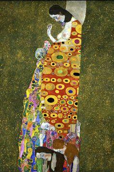 'Hope II' - Gustav Klimt, 1907-1908