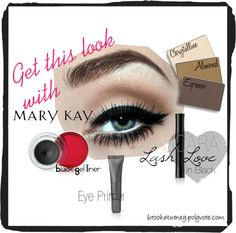 """Classy Eyes with Mary Kay"" by brooketurney on Polyvore"